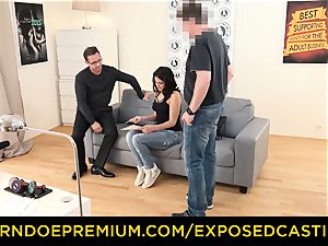 revealed casting - Coco de Mal plumbed in molten casting