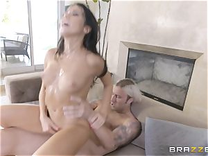 super-hot sisters Peta Jensen and Megan Rain share their stepbrother
