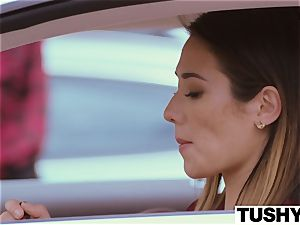 TUSHY Eva Lovia rectal flick part trio
