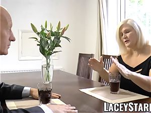 LACEYSTARR - wildest grandma analled before money-shot