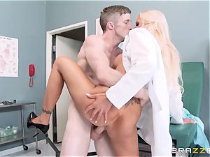 hefty splooged doc Nina Elle seduces her favourite patient