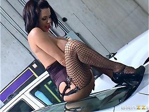 kinky mature Veronica Avluv leaned over and boinked