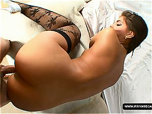 Italian porn star Defrancesca Gallardo in audition