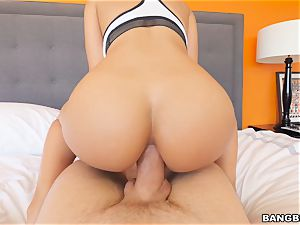molten ass Luna star railing trouser snake