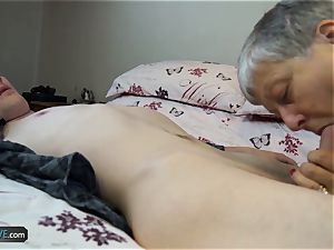 AgedLovE nasty grandmothers hard-core bang-out Compilation