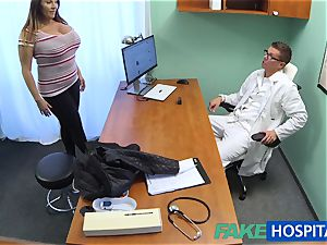 FakeHospital honey wants jizz all over her big large titties
