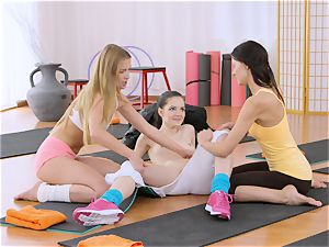 fitness apartments steamy yoga professors string on boink little teenager