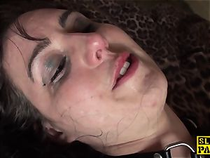 british domination & submission gimp caned and slapped