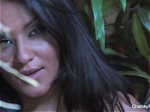 buxom Charley pursue is naughty for the harvest