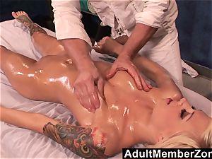 AdultMemberZone super-hot babe Emma Mae receives