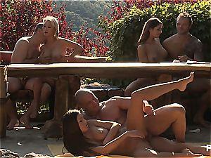 Outdoor intercourse joy and porno games sequence 4