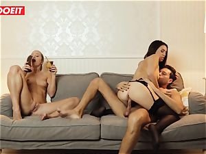 LETSDOEIT - mischievous wife Gets screwed hardcore By Swingers
