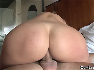 red-hot latin stunner likes to gulp explosions of cum