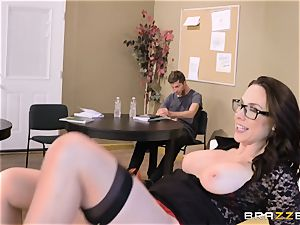 Chanel Preston pummeled in every hole