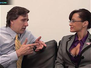 Lisa Ann hardcore poke with her boss