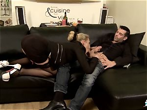 LA COCHONNE - sizzling anal with super-naughty French ash-blonde