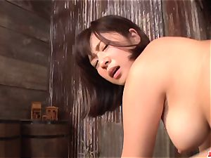 Wakaba Onoue works additional huge manhood in surpeme point of view