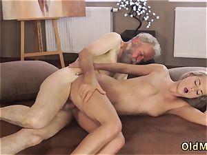 senior granddad cum-shots blonde mummy pounds youthfull female Sexual geography