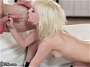 Piper Perri rides That man meat Like a greedy bitch