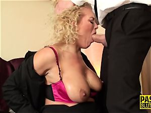 mouth romped slave milf