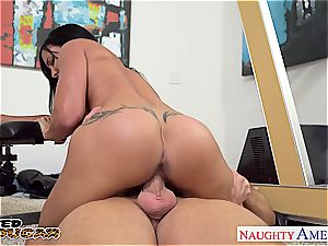 cougar clits Jade thirsts hefty schlong in her ebony cooter