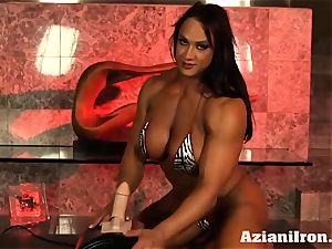 huge fit Amber rails the sybian