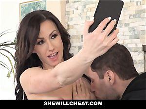 SheWillCheat steamy wifey Cheats with hubbies partner
